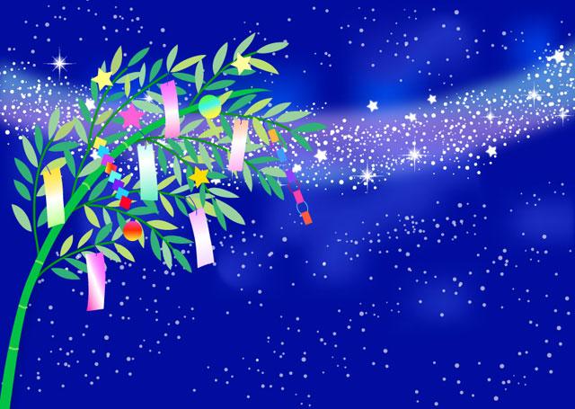 七夕のイラストと天の川と織姫彦星の無料のものはコレだ 季節限定情報
